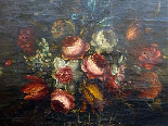 Willem van Aelst 1627-1683 rari cesti di fiori Coppia-10