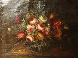 Willem van Aelst 1627-1683 rari cesti di fiori Coppia-5