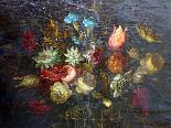 Willem van Aelst 1627-1683 rari cesti di fiori Coppia-15