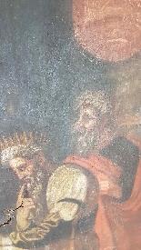 Large antique painting 250 x 153 cm oil on canvas XVII centu-2