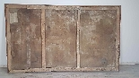 Large antique painting 250 x 153 cm oil on canvas XVII centu-5