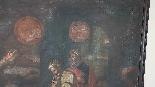 Large antique painting 250 x 153 cm oil on canvas XVII centu-6