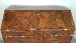 Antique chest of drawers with flap first half of 1700 18th c-8