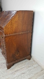 Antique chest of drawers with flap first half of 1700 18th c-12
