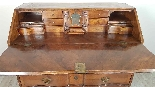 Antique chest of drawers with flap first half of 1700 18th c-11