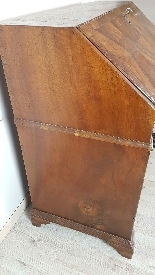 Antique chest of drawers with flap first half of 1700 18th c-10