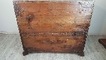 Antique chest of drawers with flap first half of 1700 18th c-0