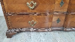 Antique chest of drawers with flap first half of 1700 18th c-6