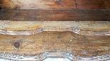 poitrine antique avec la première moitié rabat de 1700 Sec. -5