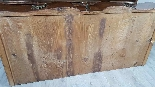 Antique chest of drawers with flap first half of 1700 18th c-3