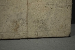 Meridiana in marmo, Italia Centrale, 1600-1