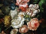 Jan Van Thielen 1618-1667 Composizione floreale su un Entabl-5