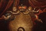 ASTOLFO PETRAZZI (SIENA 1580-1653) MADONNA  BAMBINO E ANGELI-0