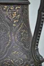 Zuluoaga vaso damasceno, fine XIX-5