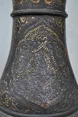 Zuluoaga vaso damasceno, fine XIX-14