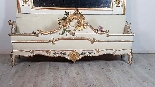 19th Century  Baroque Style Carved Lacquered Golden mirror-9
