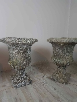 20th Century Italian Neoclassical Garden Pots Set-5