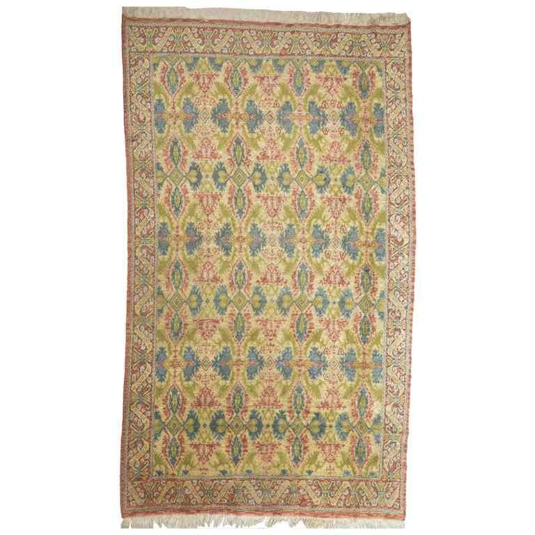 Ancien tapis de Cuenca d'Espagne