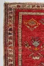 Pair of Antique Kirshehir Prayer Little Carpets-3