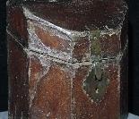 Leather box, cutlery tray, Sec.XVII-3