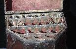 Leather box, cutlery tray, Sec.XVII-4